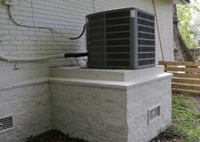 AC Pad - Concrete