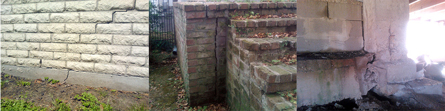 Warning Signs for Foundation Problems - Orleans Shoring, Greater NOLA
